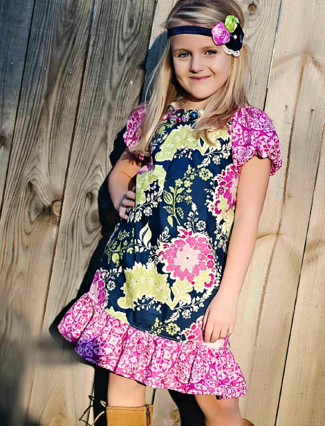 picture 7 Free Girls Dress Sewing Patterns