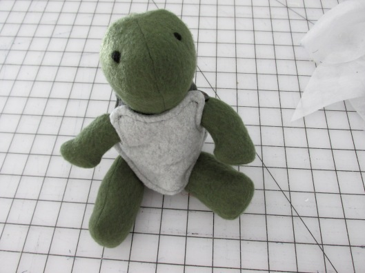 stuffed plush turtle toy diy handmade