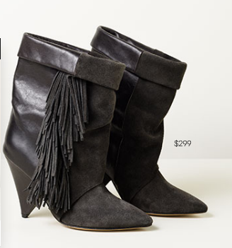 Isabel Marant for H&M black boots