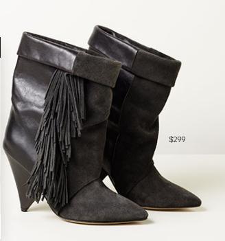 Isabel Marant for H&M black boots