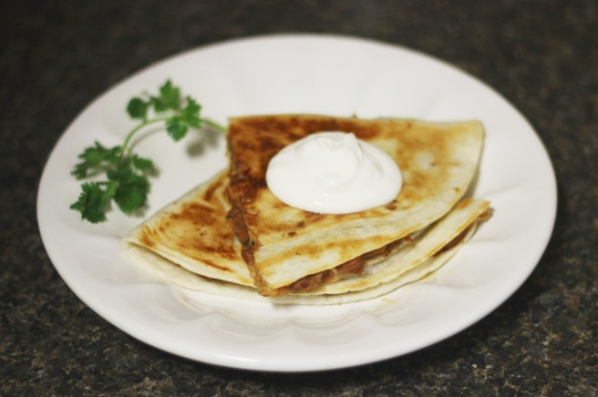 quesadilla refried beans recipe