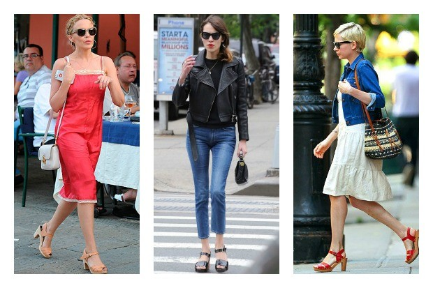 Wow that's 2 Michelle Williams photos in this post. Girl likes her ethical fashion.