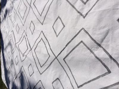 DIY Moroccan rug