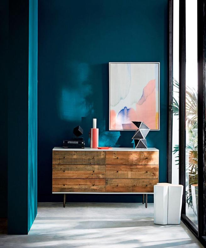 Oceanside Sherwin Williams West Elm Color of the Year 2018 blue