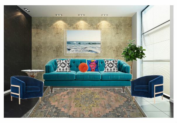 living_room_teal_zerowastedaniel